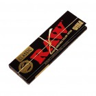 Raw Black Classic CONNOISSEUR Rolling Papers Organic 60shts/booklet